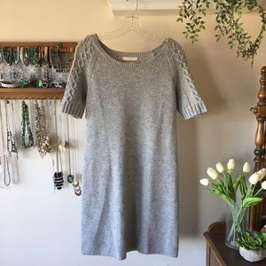 Banana Republic Short Sleeve Sweater Dress